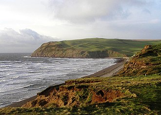 St Bees - Image: St Bees south head (Tomlin)