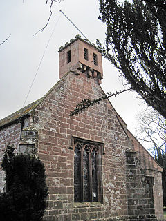 St Columbas Church, Warcop Church in Cumbria, England