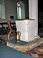 St Ethelbert's church - Norman tub font - geograph.org.uk - 1709788.jpg