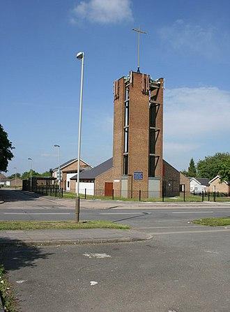 Eyres Monsell - St Hugh's Church, Sturdee Road