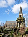 St James Church and the cupola of the ruined Bell Chapel (Taken by Flickr user 2nd February 2013).jpg