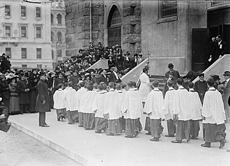 Cathedral of Saint John the Divine - The consecration of the choir, April 19, 1911