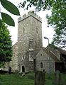 St Martin, Cheriton, Kent - Tower - geograph.org.uk - 326036.jpg