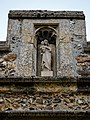 St Mary's Church, Great Canfield, Essex ~ south porch Madonna and Child sculpture.jpg