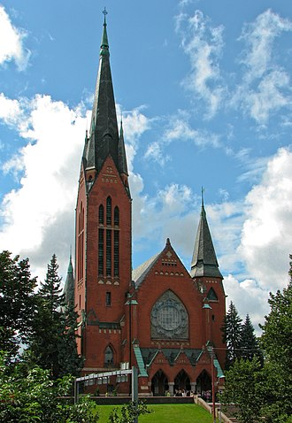 Lars Sonck - Image: St Michael's Church, Turku