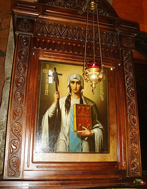 Saint Nino - Icon of Saint Nino at Svetitskhoveli Cathedral