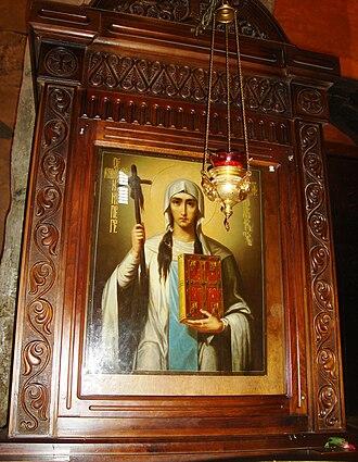 Saint Nino - Icon of Saint Nino at Svetitskhoveli Cathedral