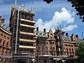 St Pancras under scaffolding - geograph.org.uk - 433944.jpg