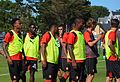 Stade rennais vs USM Alger, July 16th 2016 - Echauffement 3.jpg