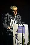 Stadtkulturpreis Hannover 2013 (216) der langjährige Kulturautor der Hannoverschen Allgemeinen Zeitung Bernd Schwope bei seiner Laudatio.jpg
