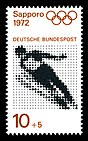 Stamps of Germany (BRD), Olympiade 1972, Ausgabe 1971, 10 Pf.jpg
