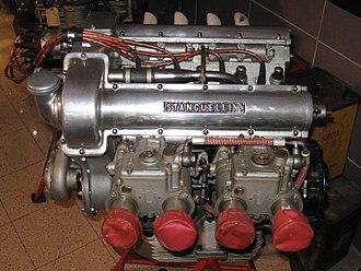 Automobili Stanguellini - A Stanguellini racing engine.