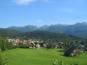 Bohinj - Stara Fužina, a village near Lake Bohinj