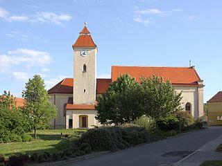 Starovice Municipality in South Moravian, Czech Republic