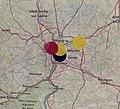 State of the Map France 2019 - carte des participant.e.s (je suis le point jaune à droite).jpg