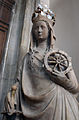 Statue of Saint Catherine Gravenkapel Kortrijk 17052015 1.jpg