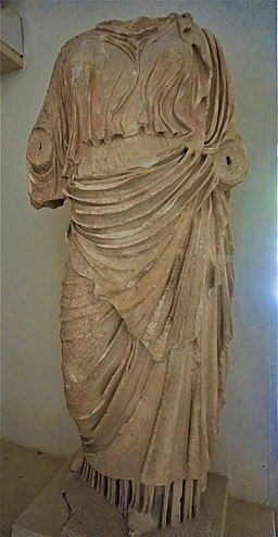 Statue of a Woman wearing a Chiton and a Himation - Archaeological Museum of Epidaurus