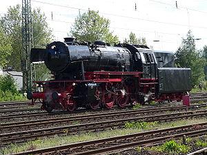 DB Class 23 - Image: Steam locomotive BR 23