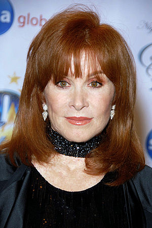 "Stefanie Powers - Powers attending the ""Night of 100 Stars"" for the 82nd Academy Awards viewing party in March 2010"