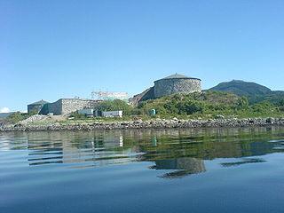 Steinvikholm Castle Island fortress in Skatval, Nord-Trøndelag, Norway