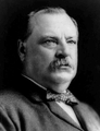 Former President Grover Cleveland of New York