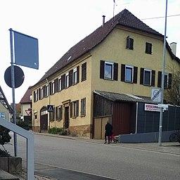 Klosterstraße in Kernen im Remstal