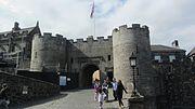 Stirling castle enterance