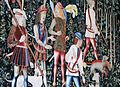 Stirling le chateau tapisserie dans la, Chapelle Royale,.jpg