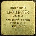 Stolperstein Friedrichshain Landsberger Allee 60 Max Lesser.jpg