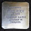 Stolperstein Güntzelstr 53 (Wilmd) David Reich.jpg