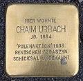 Stolperstein Karl-Marx-Allee 45 (Mitte) Chaim Urbach.jpg