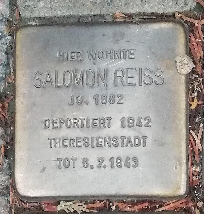 Stolperstein Salomon Reiss