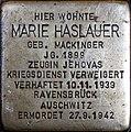 Stolperstein Salzburg, Marie Haslauer (Getreidegasse 33).jpg