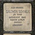 Stolperstein Schleidenstraße 26 Salomon Sommer.jpg