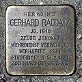 Stolperstein Wönnichstr 103 (Rumbg) Gerhard Raddatz.jpg