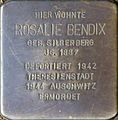 Stolpersteine Köln, Rosalie Bendix (Klettenberggürtel 11).jpg