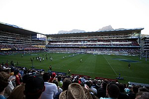 Rugby match at Newlands. Stormers (Super 14).