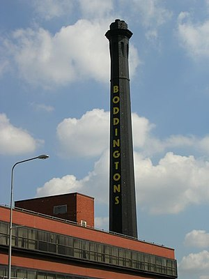 Boddingtons Brewery - Strangeways Brewery before its demolition in 2007