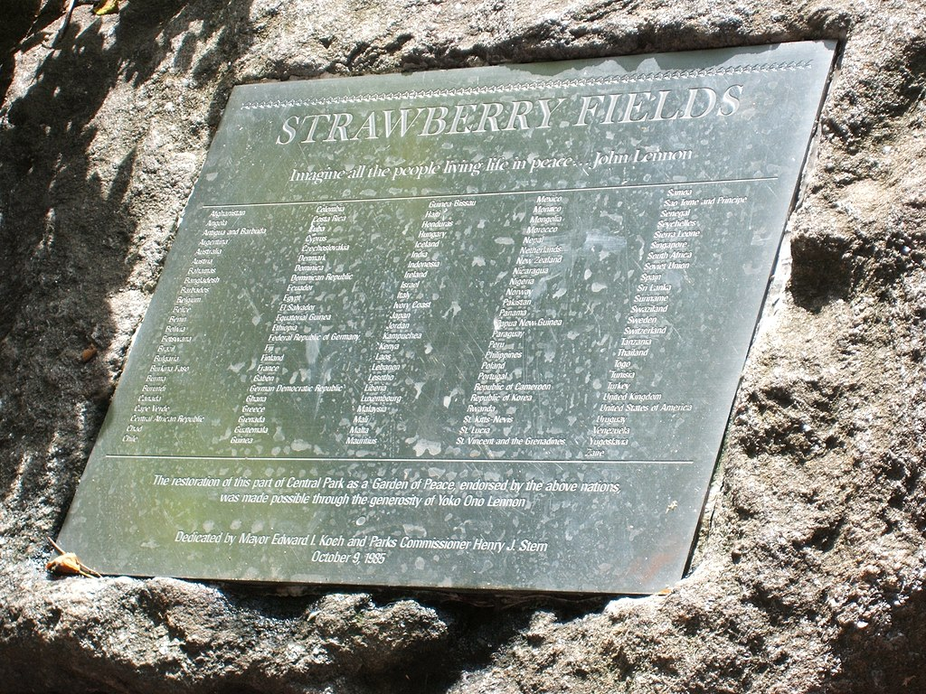 Strawberry Fields Dedication