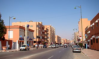 Laayoune - Image: Street view from Laayoune 2011