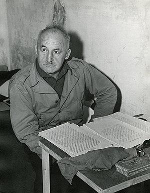 Der Stürmer - Julius Streicher, Der Stürmers publisher, at the Nuremberg trials