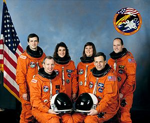 STS-57 - Image: Sts 57 crew