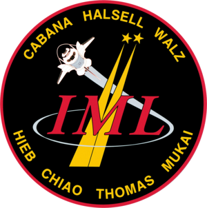 Donald A. Thomas - Image: Sts 65 patch