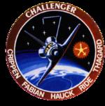 Missionsemblem STS-7