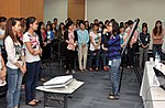 Students join the 'USAID and Higher Education in Vietnam' talk (8201268077).jpg