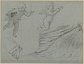 Studies of Two Flying Putti and of Drapery (recto); Seated Virgin and Child, and Kneeling Child (verso) MET 1975.131.48 RECTO.jpg