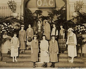 Oregon State University - OAC Home Economics Department at Multnomah Hotel in Portland, 1920