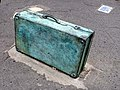 Suitcase on Old Mangotsfield Station - geograph.org.uk - 218160.jpg