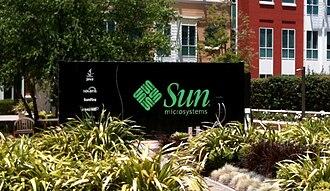 Sun Modular Datacenter - A Sun Modular Datacenter on display at the Sun Microsystems Executive Briefing Center in Menlo Park, California