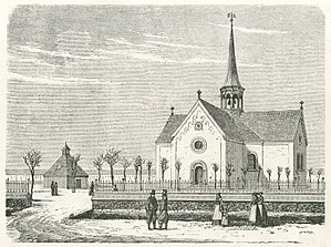 Sundby Church - Sundby Church in 1760
